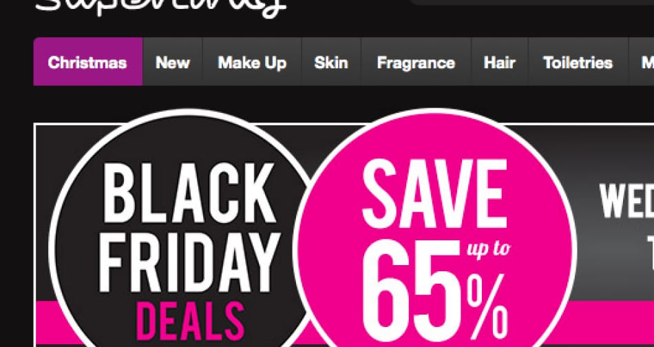 superdrug black friday