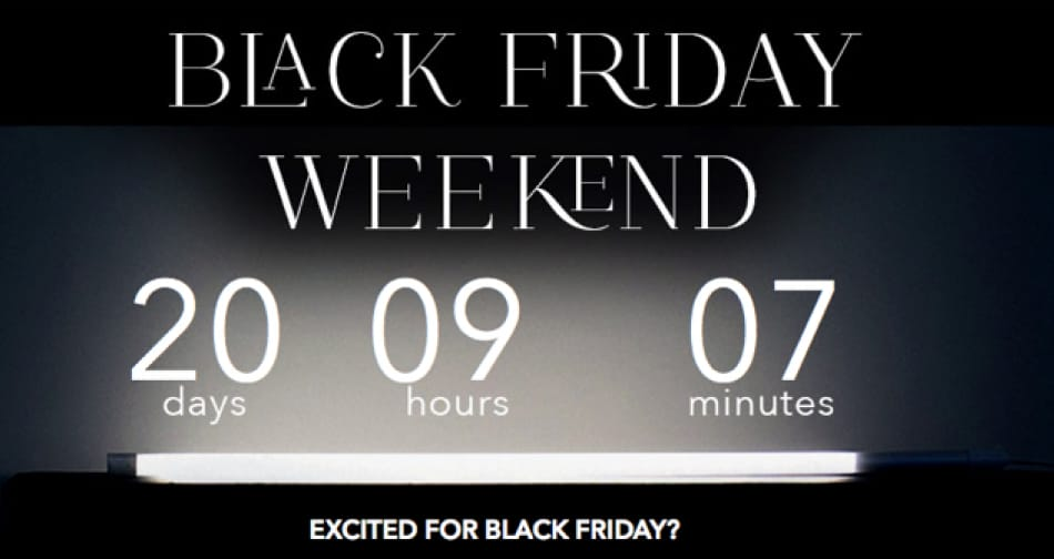 Miss Selfridge Black Friday