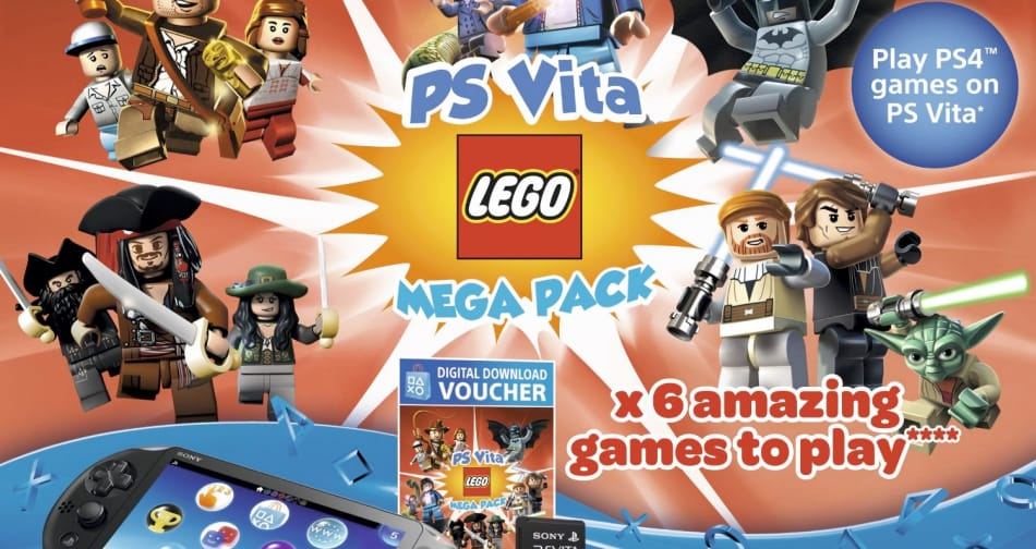 PS Vita LEGO Bundle deals