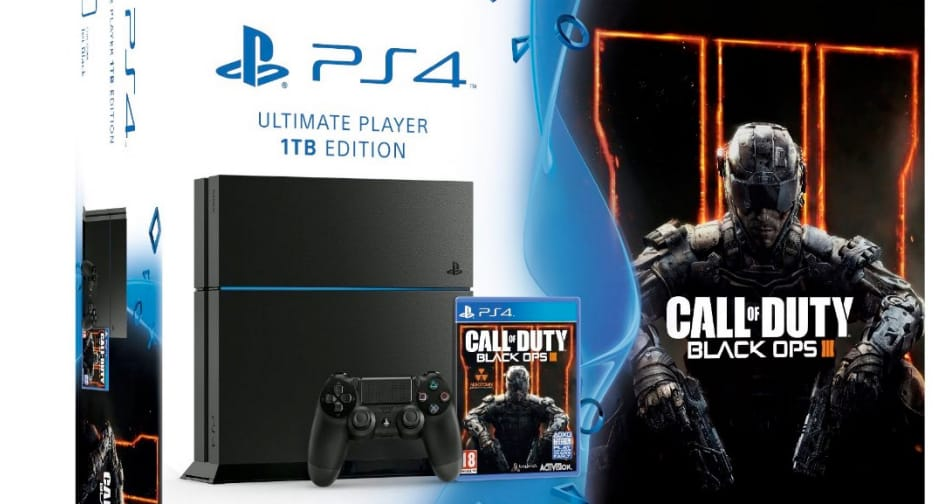 PS4 console Call of Duty Black Ops 3 bundle deal