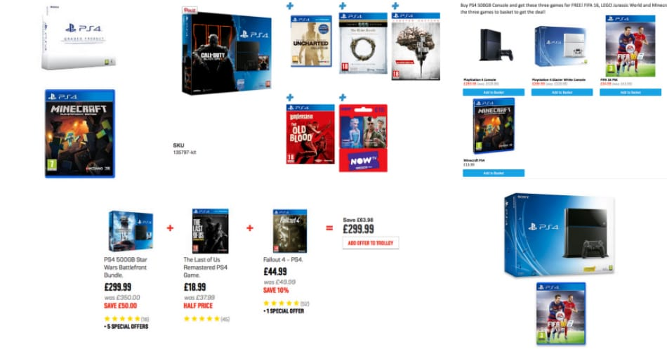 Best 5 PS4 Console and Game Deals