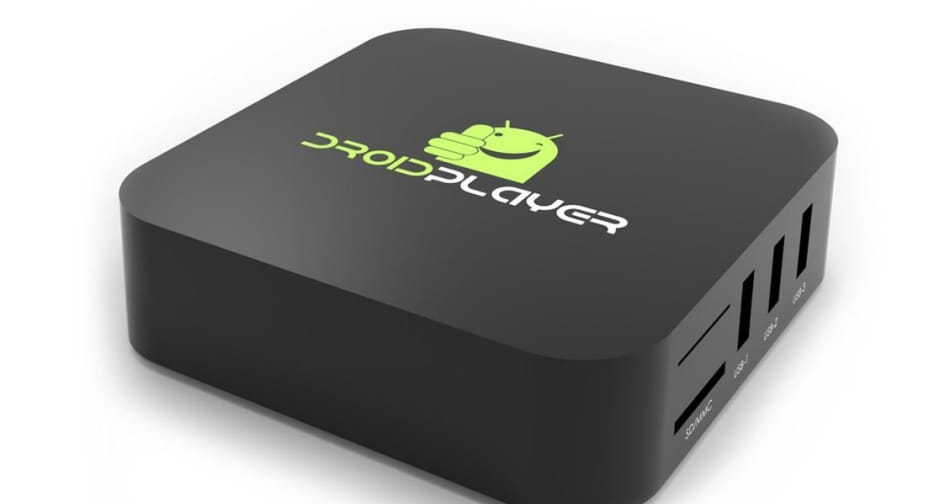 DroidPlayer Android TV Box Streaming Media Player