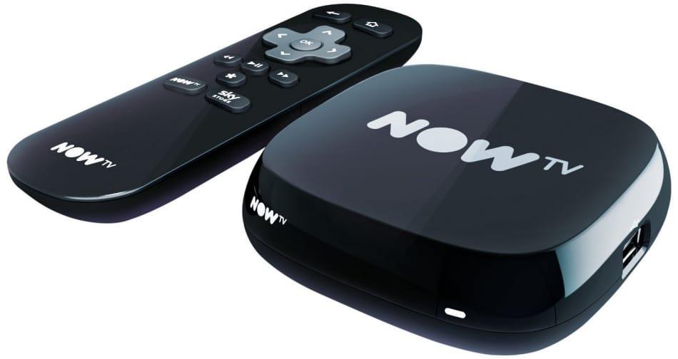 NOW TV Box + 4 Month Movie Pass