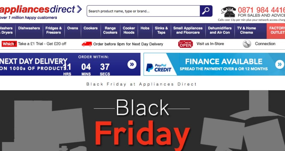 appliances-direct-black-friday-uk
